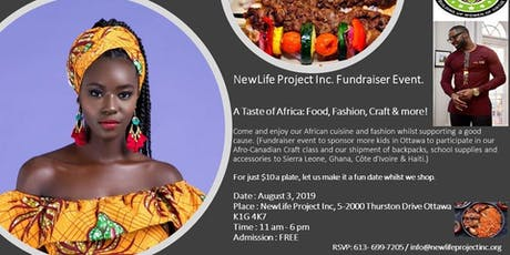 A Taste of Africa: Food, Fashion, Craft & more! tickets