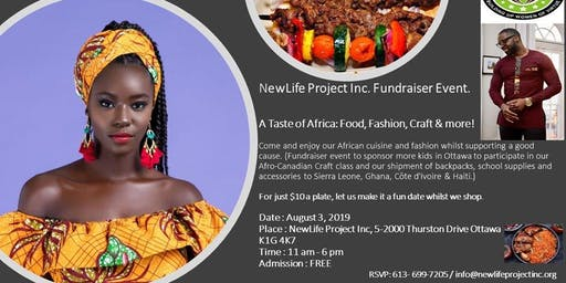 A Taste of Africa: Food, Fashion, Craft & more!