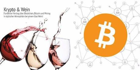 Krypto & Wein meets Privater Finanztreff Weiden Tickets