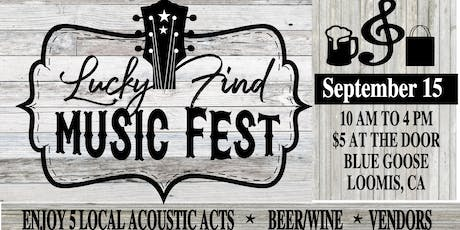 Lucky Find Music Fest tickets