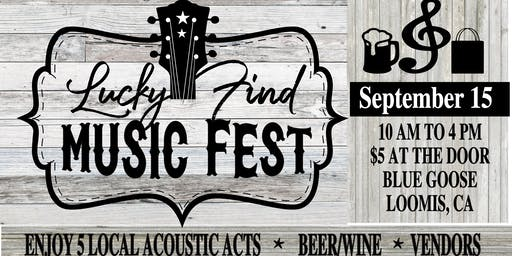 Lucky Find Music Fest