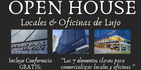 BROKER`S OPEN HOUSE AND CONFERENCE DE PLAZA BOULEVARD DEL ESTE entradas