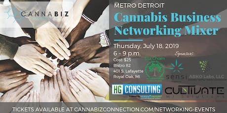 Metro Detroit Cannabiz Connection Networking Mixer tickets