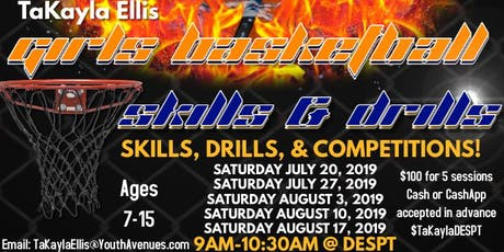Girls Basketball Skills & Drills tickets