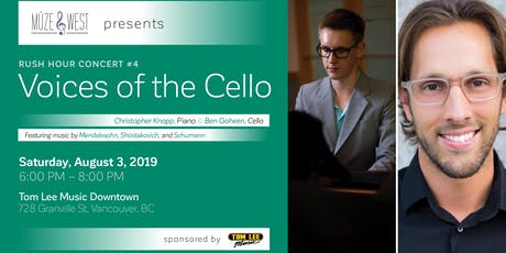 Voices of the Cello tickets