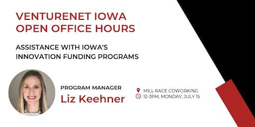 VentureNet Iowa Open Office Hours - Cedar Falls