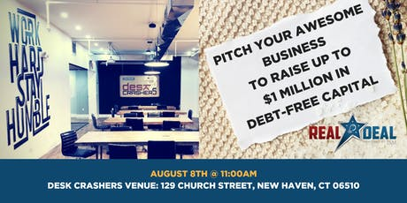 Deskcrashers - America's Real Deal Pitch Event tickets