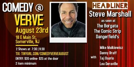 Comedy at Verve on August 23rd tickets