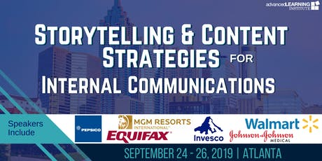 Storytelling & Content Strategies for Internal Communications tickets