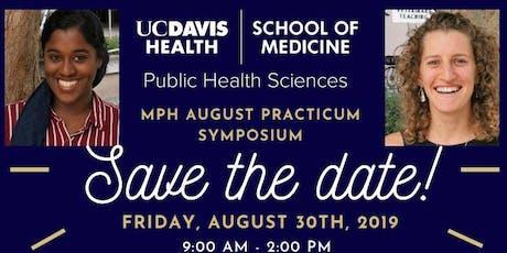 UC Davis MPH Program August Symposium tickets