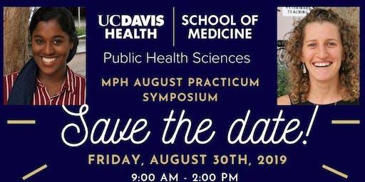 UC Davis MPH Program August Symposium