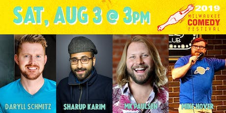 MKE Comedy Fest Sat 3pm tickets