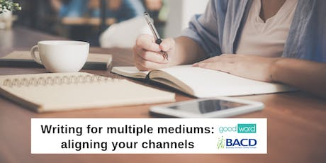 Writing for multiple mediums: aligning your channels tickets