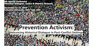 PREVENTION ACTIVISM: Advancing Historical Dialogue in...
