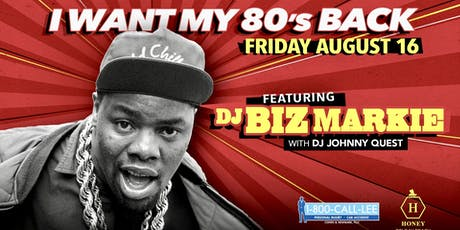 I Want My 80's Back with Biz Markie  tickets