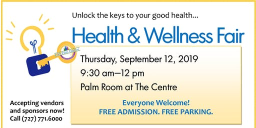 Health & Wellness Fair - Unlock the Keys to Your Good Health