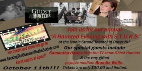 A Haunted Evening with STURS tickets