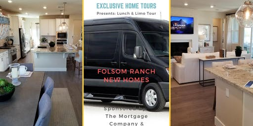 Folsom Ranch New Home Tour with Limo & Lunch