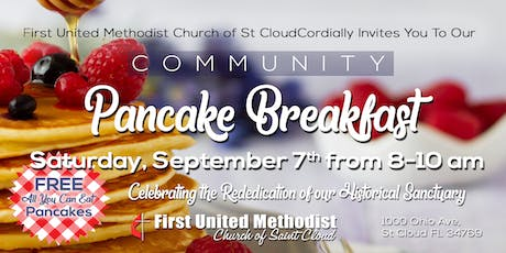 Community Pancake Breakfast tickets