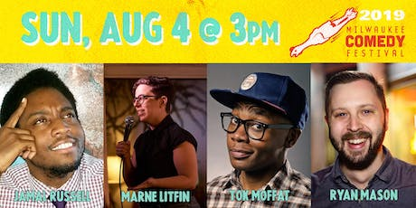 MKE Comedy Fest Sun 3pm tickets