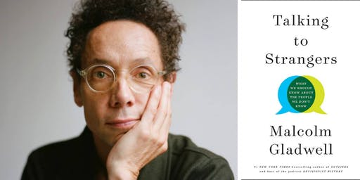 Malcolm Gladwell at Back Bay Events Center