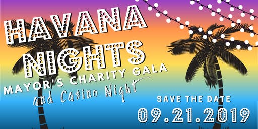 Mayor's Charity Havana Night Gala