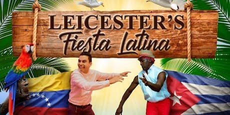 LEICESTER'S FIESTA LATINA - SALSA,BACHATA ,MERENGUE SOCIAL PARTY & BUFFET , tickets