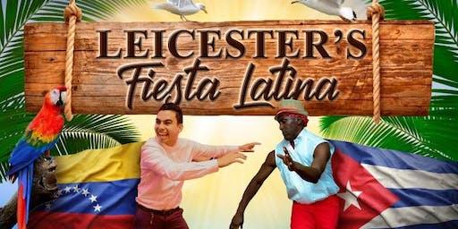 LEICESTER'S FIESTA LATINA - SALSA,BACHATA ,MERENGUE SOCIAL PARTY & BUFFET ,