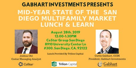 CoStar Mid-Year State of the San Diego Multifamily Market Lunch & Learn tickets