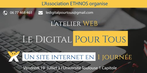 Workshop Digital / Créez un site internet en 1 journée
