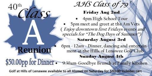 AHS Class of 79' 40th Reunion