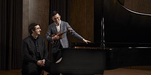 BEETHOVEN - Sonates pour violon et piano  Charles Richard-Hamelin, piano & Andrew Wan, violon
