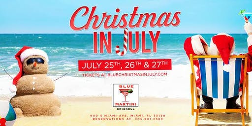 Christmas in July - Spanglish Thursdays