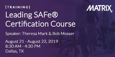 Leading SAFe® Certification Course