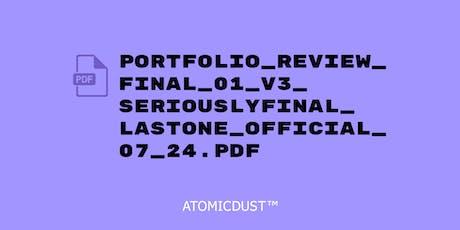 Atomicdust Summer Portfolio Review tickets