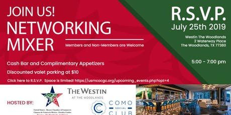 Join us!  July 25th Networking Mixer tickets