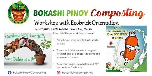 Bokashi Pinoy Composting Workshop and Ecobricking Orientation in Manila