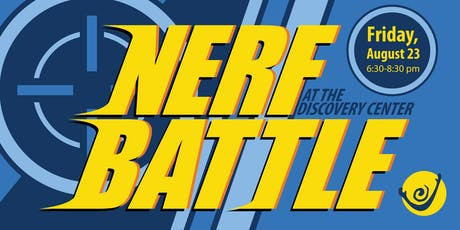 Nerf Battle tickets