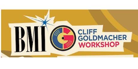 BMI/Cliff Goldmacher Songwriter Workshop-Lyric Writing Fundamentals-The Big Picture tickets