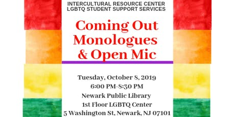 Coming Out Monologues and Open Mic tickets