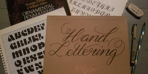 The Art of Hand Lettering August 16