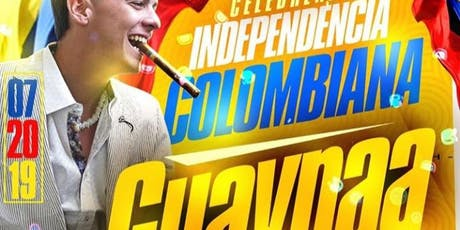 Colombian Independence Party Guaynaa Live At Cavali tickets