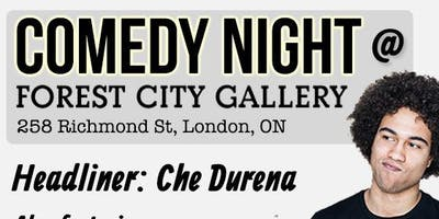 Comedy Night at Forest City Gallery