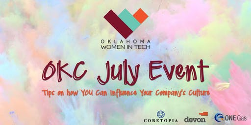OKWIT OKC: How to influence company culture - from any level!