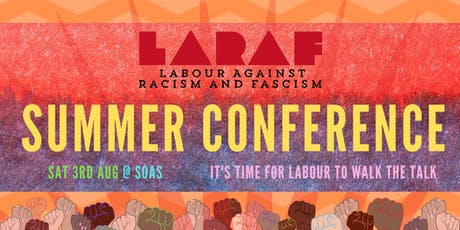 Summer Conference - Labour Against Racism And Fascism tickets