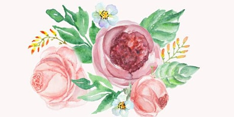 Watercolour Workshop: Flower Motief - Toronto, Danforth tickets