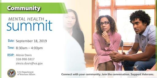 Overton Brooks VA Medical Center Community Mental Health Summit