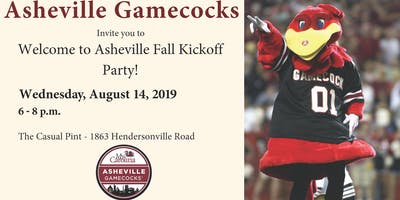 Asheville Gamecocks Fall Kickoff Party!