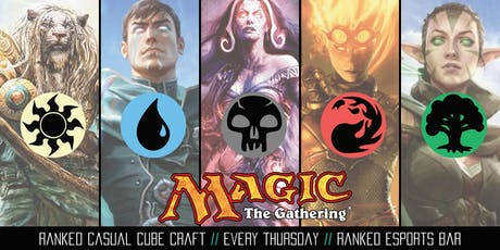 Magic Casual Cube Draft 18 juli tickets