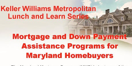 Mortgage & Down Payment Assistance Programs for Maryland Homebuyers tickets